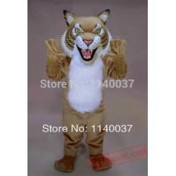 Cool Style Fierce Wildcat Mascot Costume