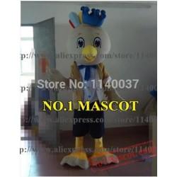 Mascot Little Parrot White Bird Mascot Costume