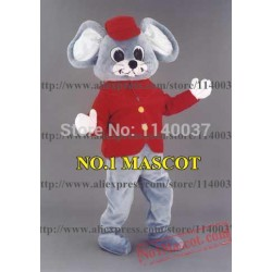 Christmas Funny Mouse Mascot Costume