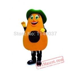 Avocado Mascot Cartoon Costume