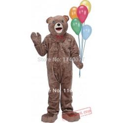 Holiday Teddy Bear Mascotte Costume