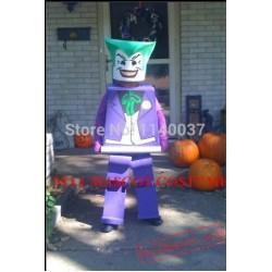 Block Brick Joker Mascot Costume