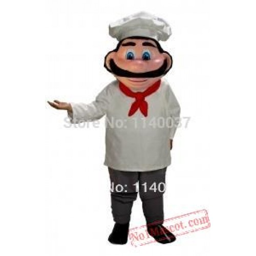 Mascot Chef Mascot Costume