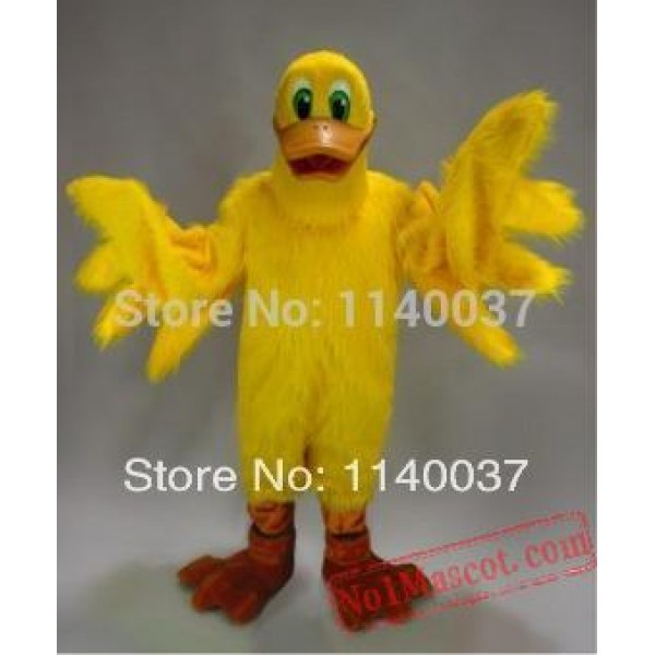 Big Yellow Duck Mascot Costume