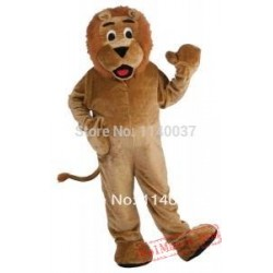 Lion Plush Basic Mascot Costume