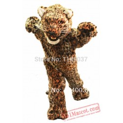 Jaguar Mascot Leopard Cougar Panther Mascot Costume