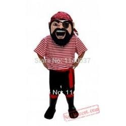 Mascot Col. Keel Haul Pirate Mascot Costume