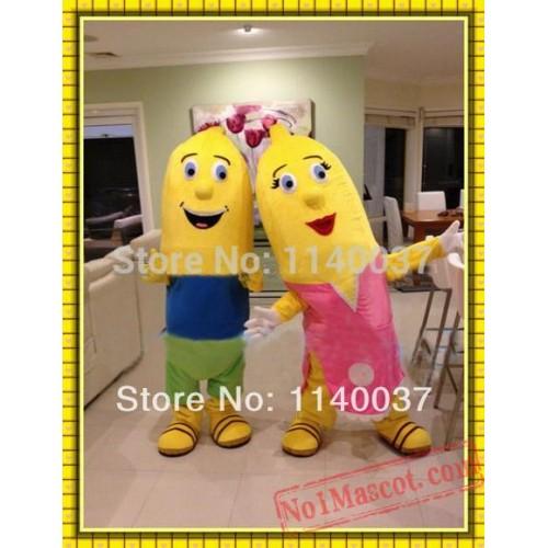 Banana Boy/Banana Girl Mascot Costume