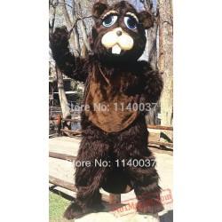 Deluxe Beaver Mascot Costume