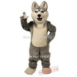 Husky Dog Mascot Costume
