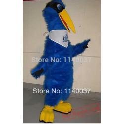 Blue Heron Mascot Costume
