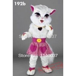 Heartfelt Kitty Cat Mascot Costume