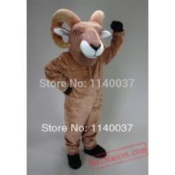 Tan Desert Bighorn Mascot Costume