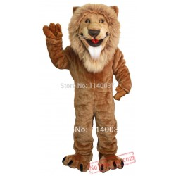King Lion Simba Mascot Costume