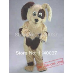 Long Hair Cookie Dog Mascot Costume