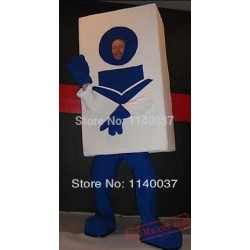Library Card Mascot Costume