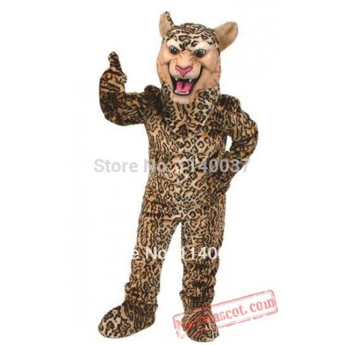Leopard Cougar Panther Mascot Costume