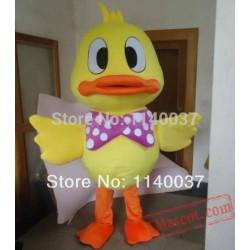 Duck Duckling Mascot Costume