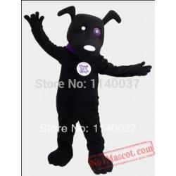 Mascot Black Dog Mascot Costume