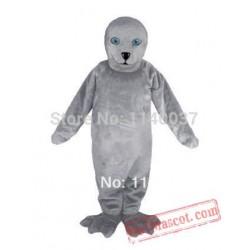 Grey Seal Mascot Costume