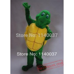 Green Turtle Tortoise Mascot Costume