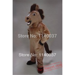Friendly Horse Stallion Mascot Costume