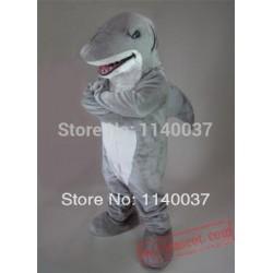 Carnival Costume Fancy Costume Grey Sharky Shark Mascot Costume