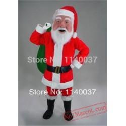 Good Quality Shaping Santa Claus Mascot Costume