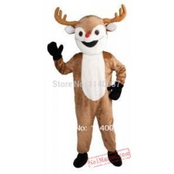Rudolph The Red Nosed Reindeer Mascot Costume