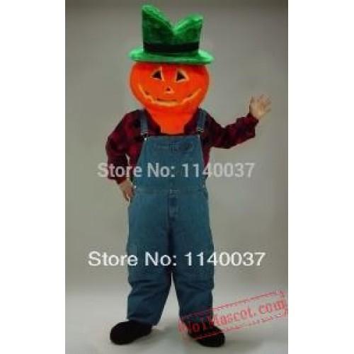 Jack-O-Lantern Halloween Pumpkin Mascot Costume
