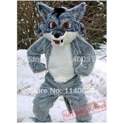 Snow Fox Mascot Costume
