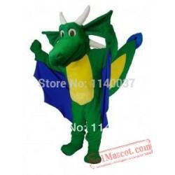 Mascot Horned Dragon Mascot Costume