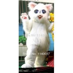 Snowball Kitty Cat Mascot Costume