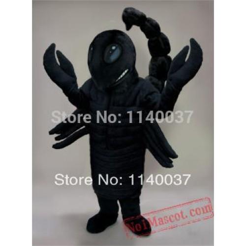 Big Black Desert Scorpion Mascot Costume
