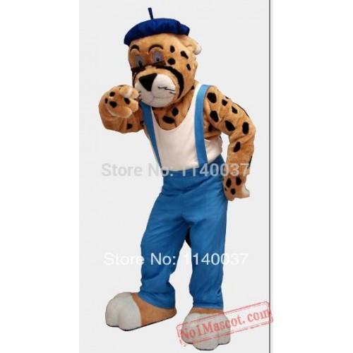 Old Tiger Mascot Costume