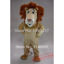 Louie Lion Simba Alex Mascot Costume