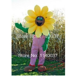 Flower Sunflower Mascot Costume