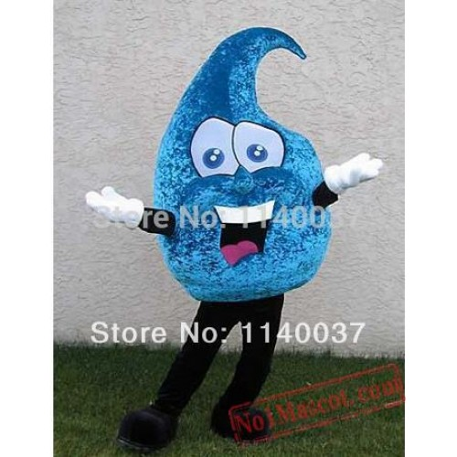 Drip Drop Raindrop Mascot Costume