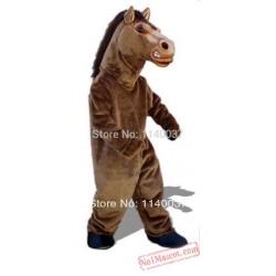 Horse Fierce Stallion Mascot Costume