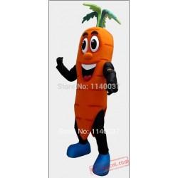 Carrot Hero Mascot Costume
