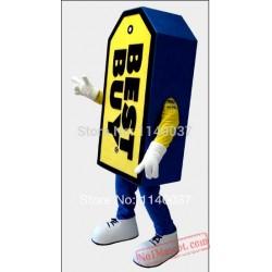 Mascot Card Mascot Costume