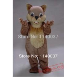 Chipper Chipmunk Mascot Costume