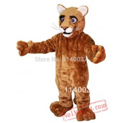 Little Leopard Panther Cat Cougar Mascot Costume