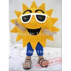 Sun Sunflower Mascot Costume