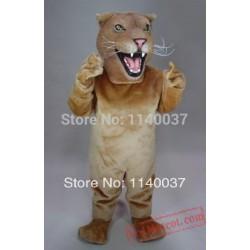 Lioness Lion Simba Alex Mascot Costume