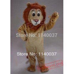 Jr. Lion Simba Alex Mascot Costume