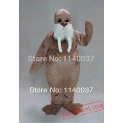 Light Brown Walrus Mascot Costume