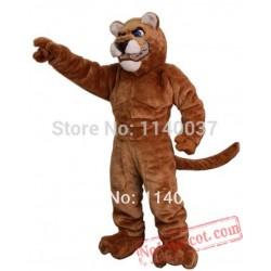 Power Cougar Mascot Costume