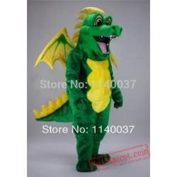 Green Pterosaur Dinosaur Dragon Mascot Costume