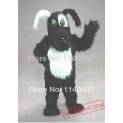 Black & White Blackie Dog Puppy Mascot Costume